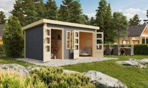 Moderne Gartenhäuser: stilvoll und gemütlich