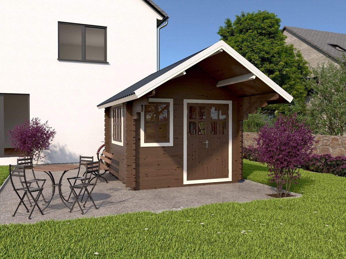 Gartenhäuser können auch als Arbeitsort verwendet werden