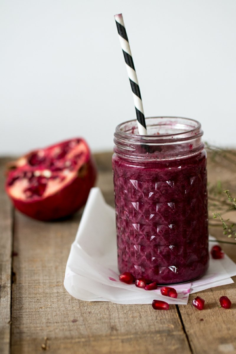low carb Stevia Smoothie Vitaminbombe