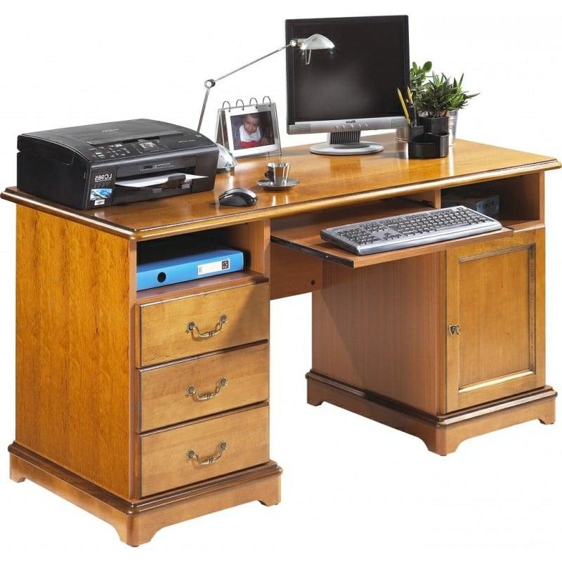 klassischer Schreibtisch Platz für den Computer