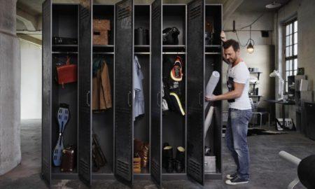 Kleiderspind Metall im Büro Vorteile