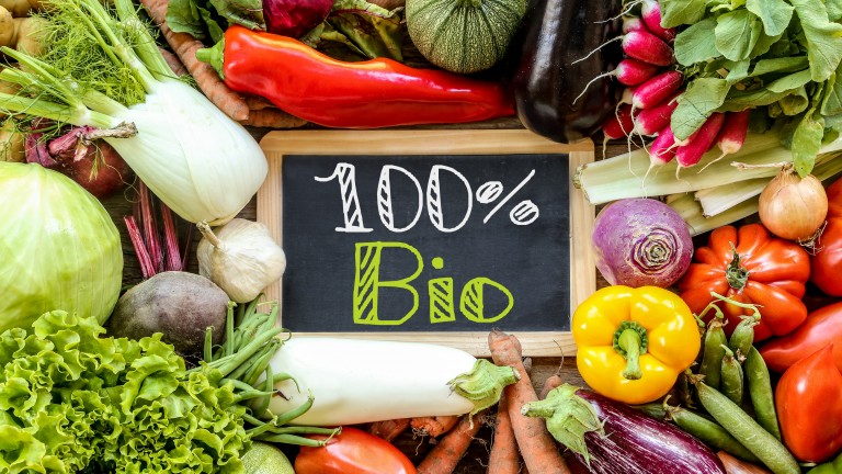 Bio Lebensmittel einkaufen