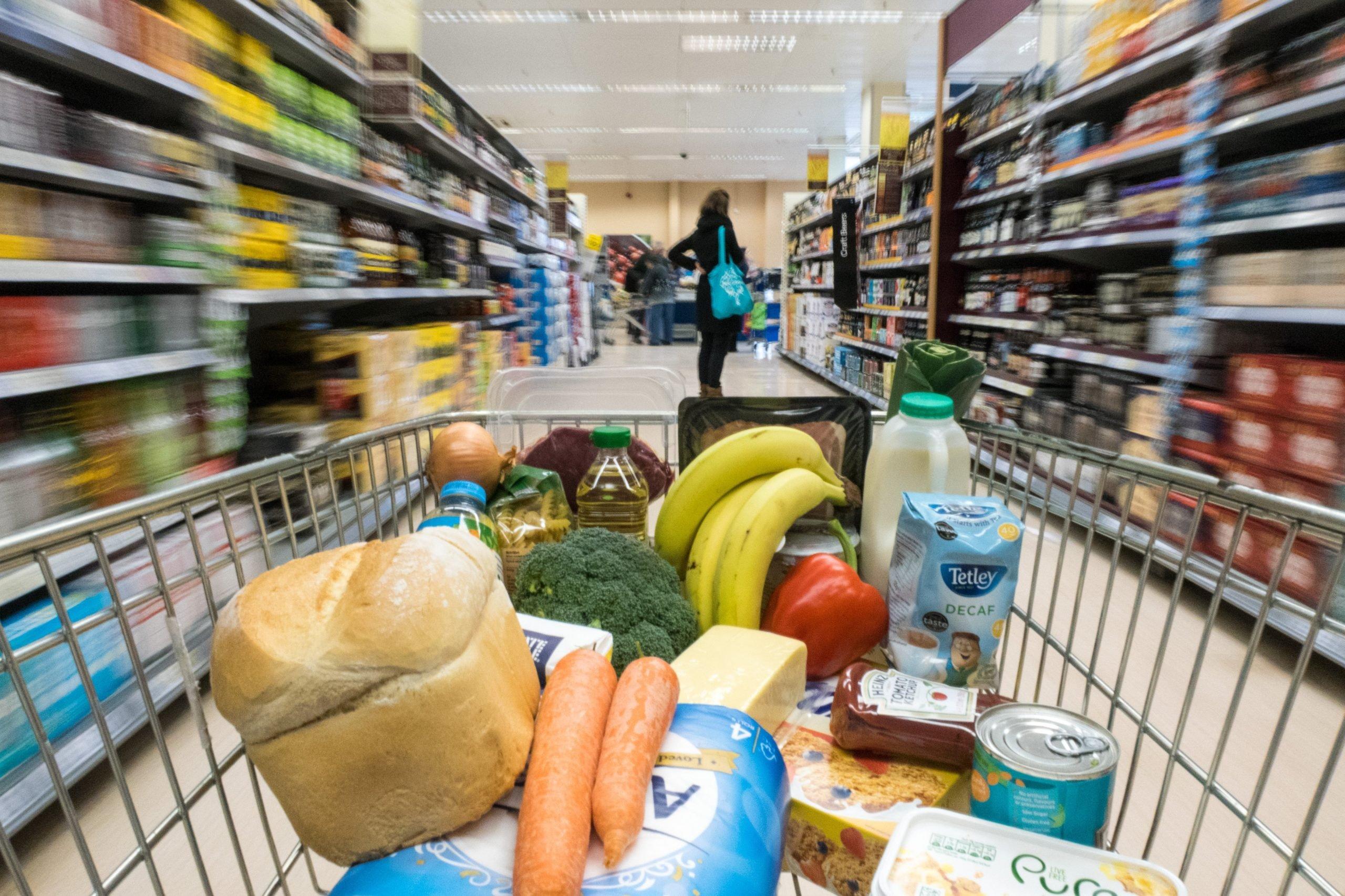 Lebensmittel schnell einkaufen ist schon möglich
