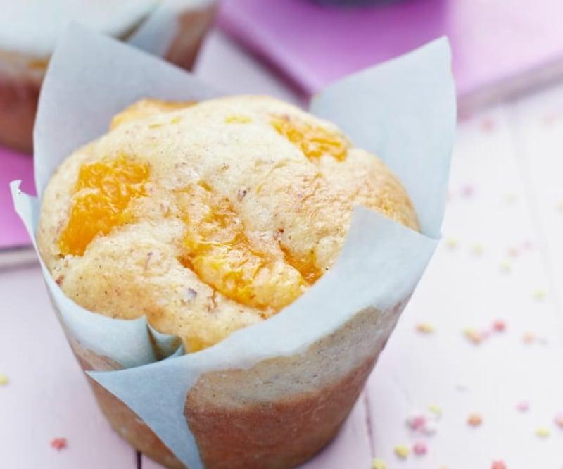 Mandarinen Muffins mit Kokosraspeln