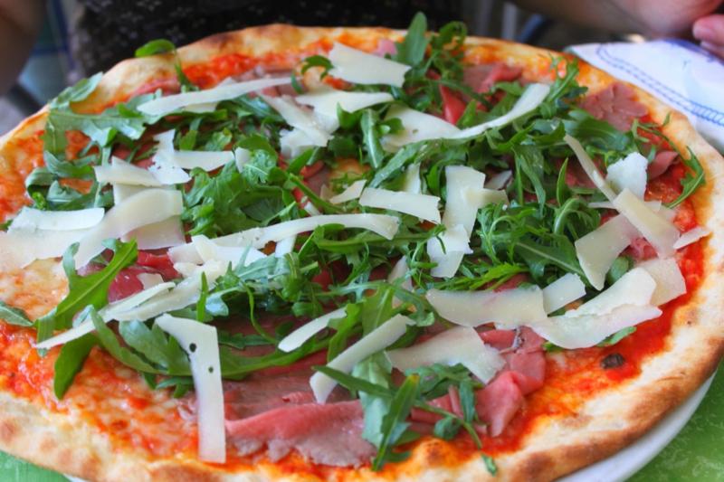 Pizza di Parma Rezept