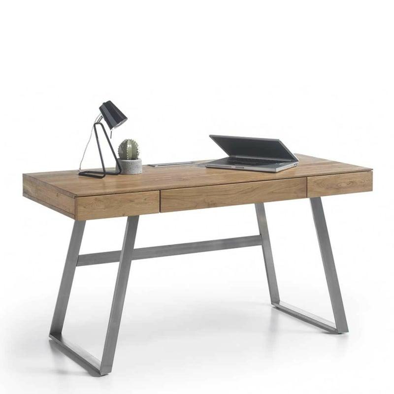 Schreibtisch Holz skandinavischer Stil