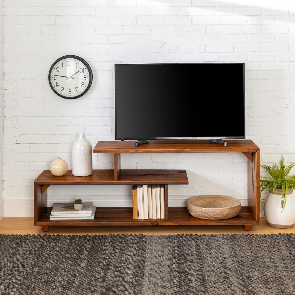 TV Ständer aus Holz für eine gemütliches Ambiente