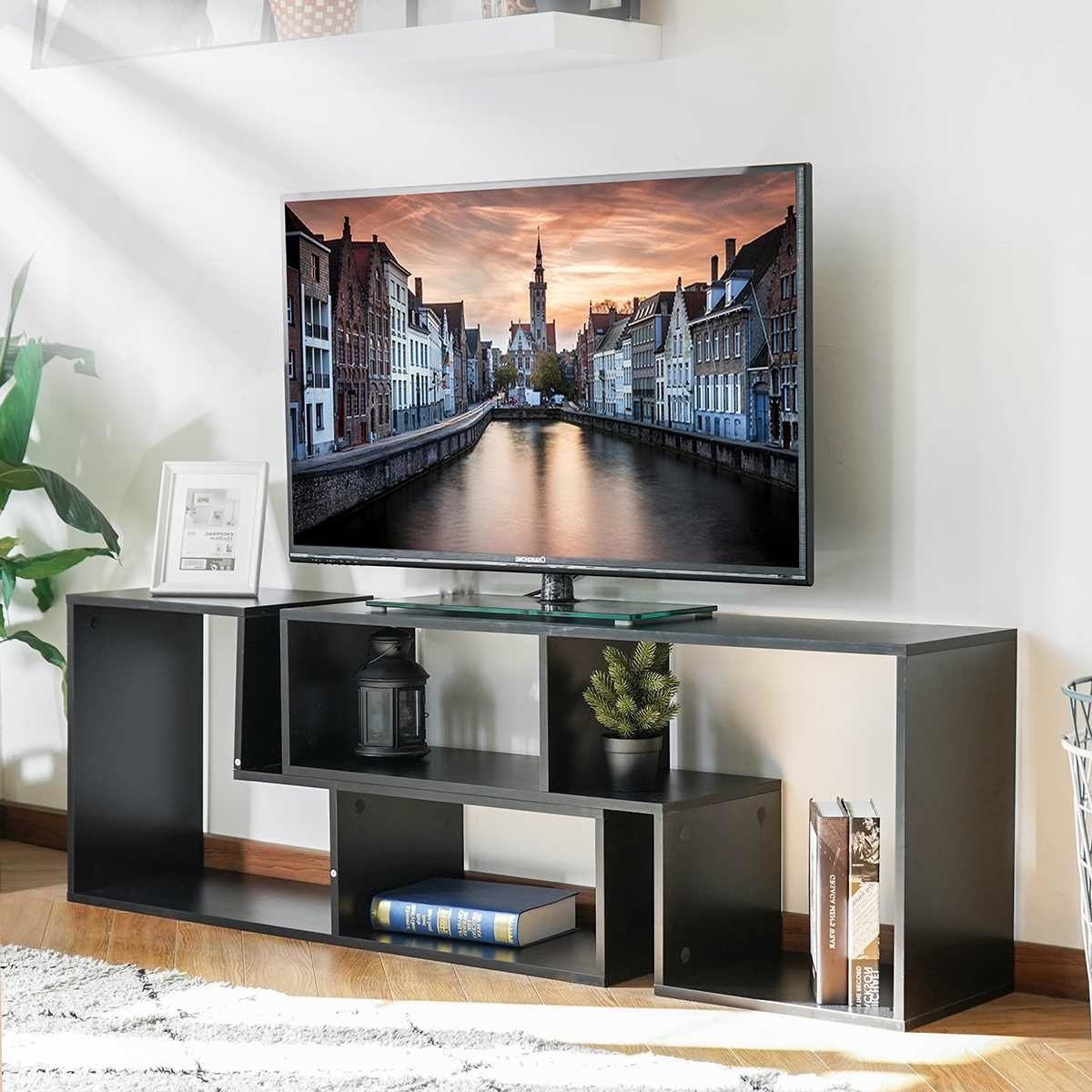 TV Ständer und Regal: 2 in 1