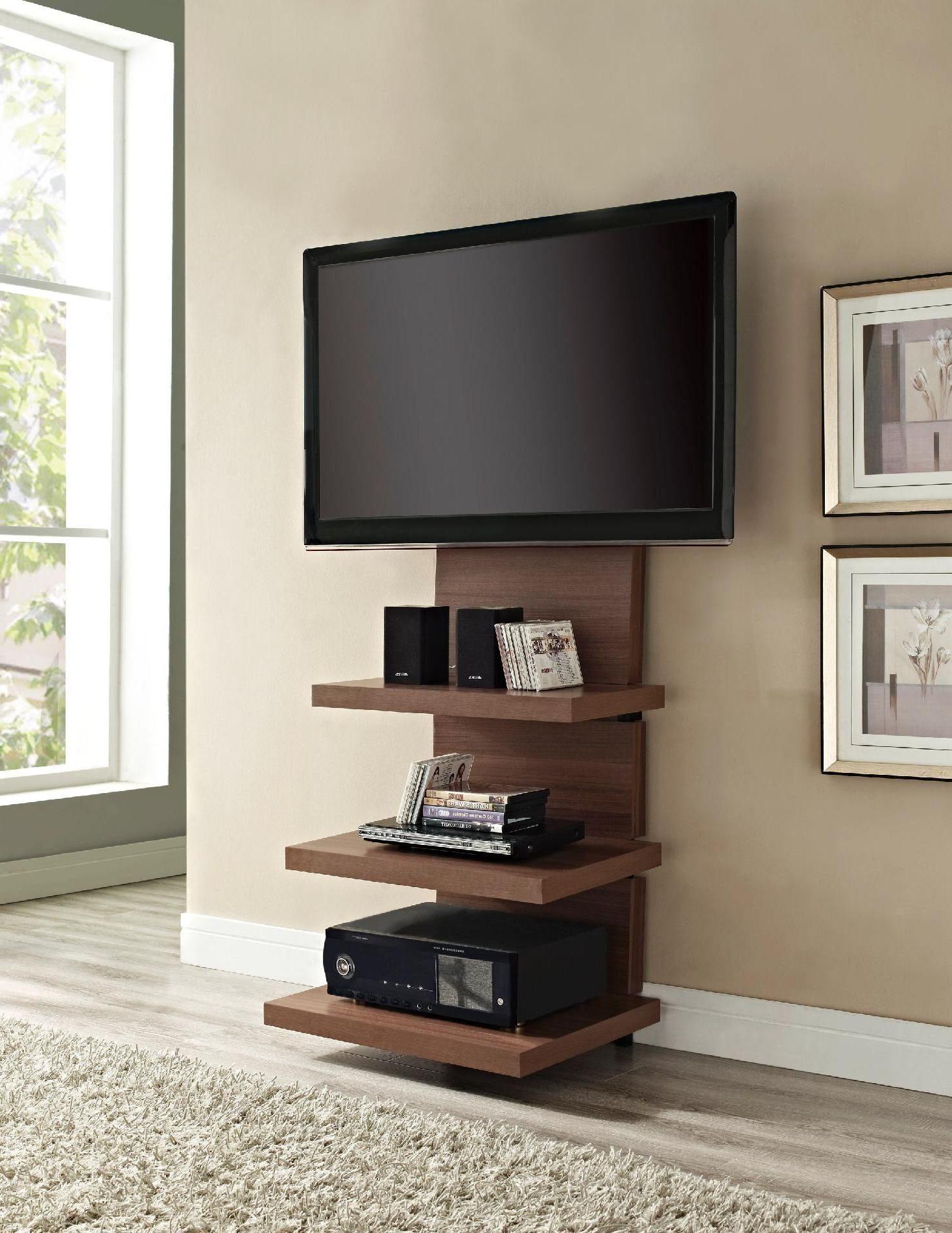 Praktischen TV Ständer aus Holz