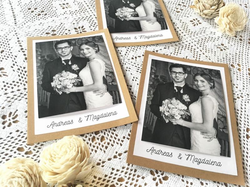 Hochzeitskarten Bastelideen