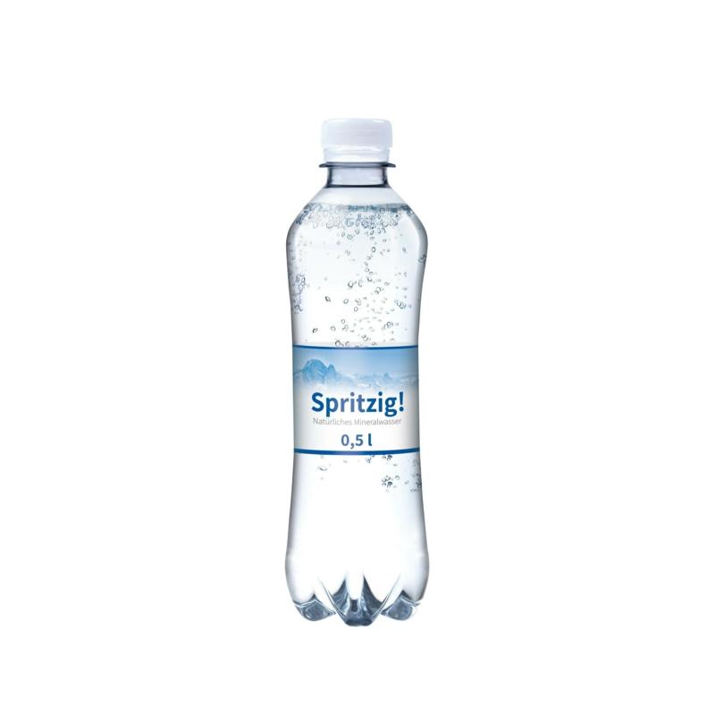Wasserflaschen bedrucken Werbung