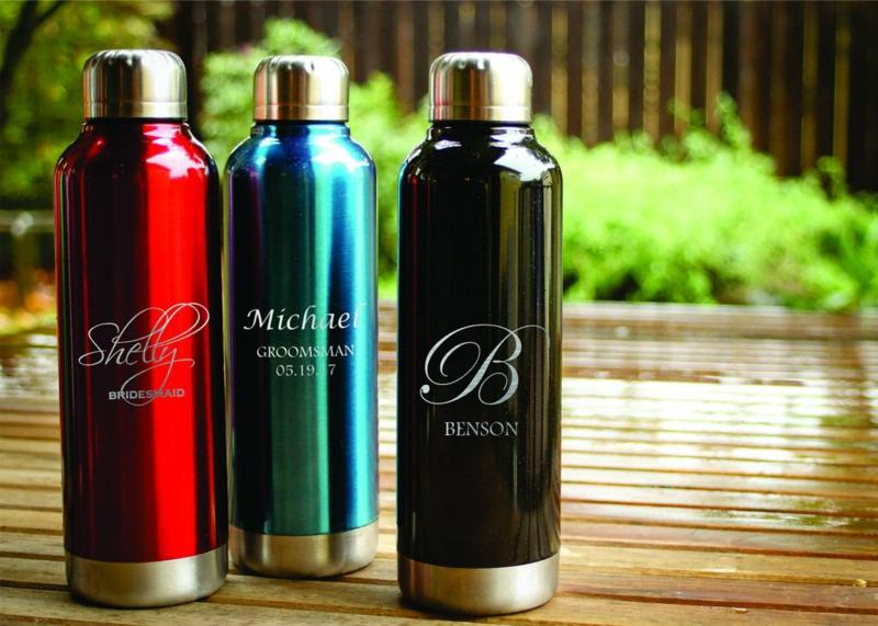 Flaschen personalisiert Hochzeit
