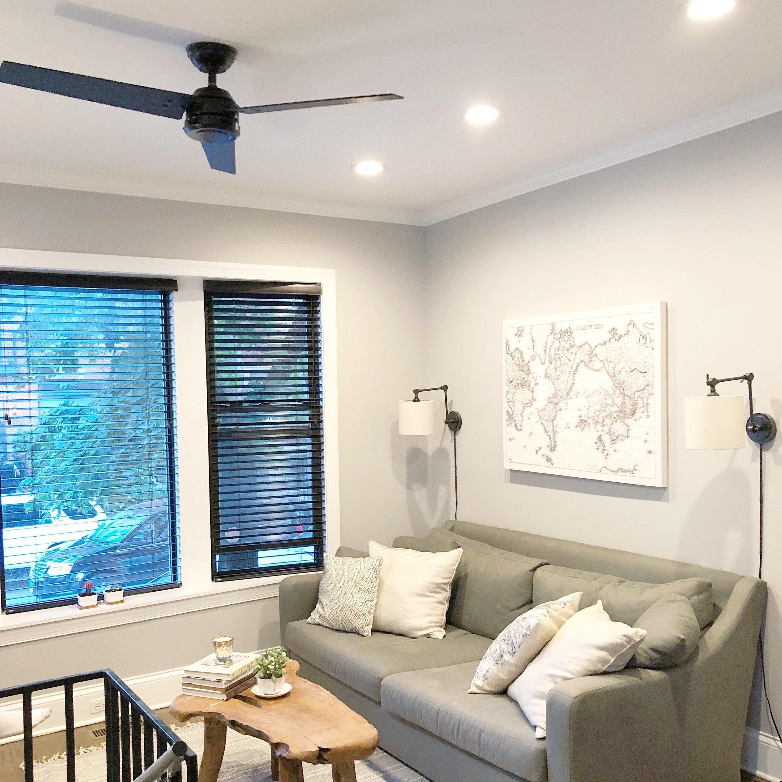 Beleuchtung für das Wohnzimmer: Einzelne Spots setzen