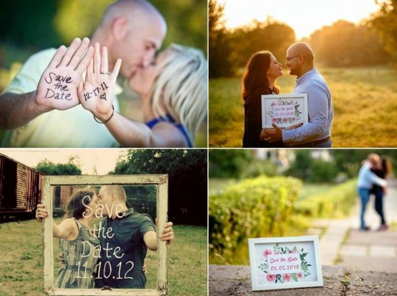 Save the Date Karte Hochzeitsdatum bekanntmachen