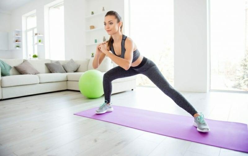 Muskelaufbau Workouts zu Hause