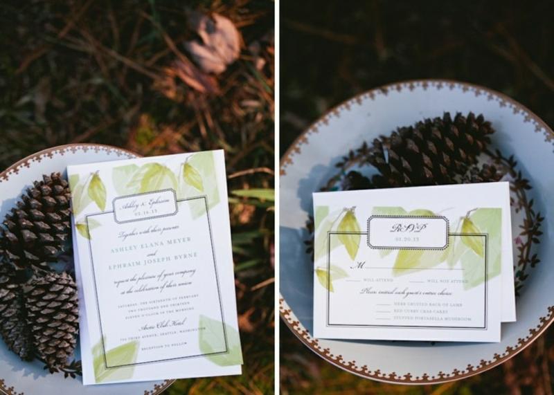 Hochzeit Einladungen gestalten coole Designideen