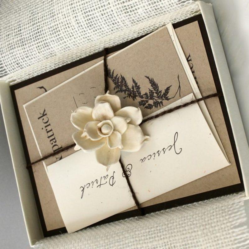 Einladungen stilvoll gestalten und verpacken