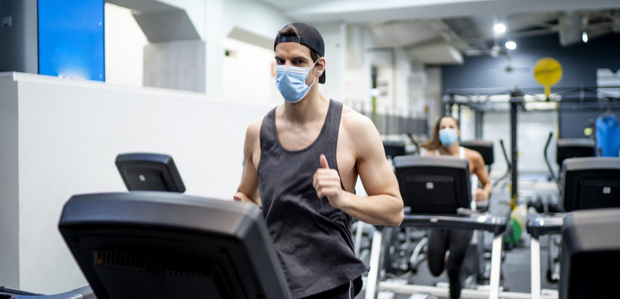 Fitness ist gerade jetzt sehr empfehlenswert
