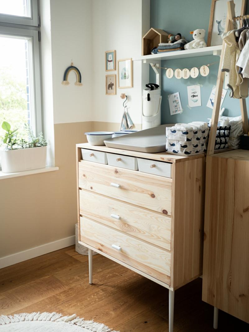 Holzkommode Babyzimmer praktisch