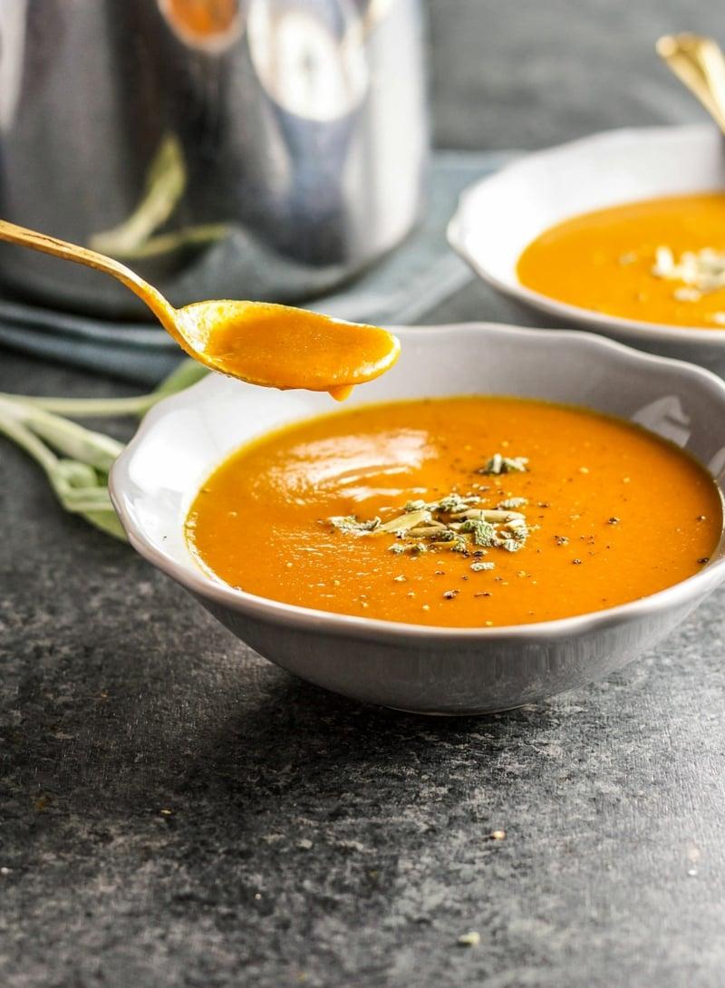 leckeres Rezept für Kürbissuppe