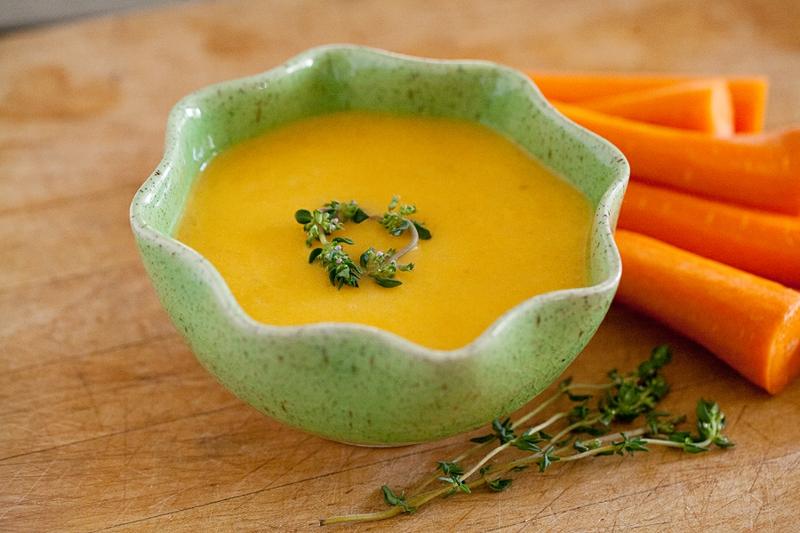 Suppe passieren Möhrencremesuppe Rezept