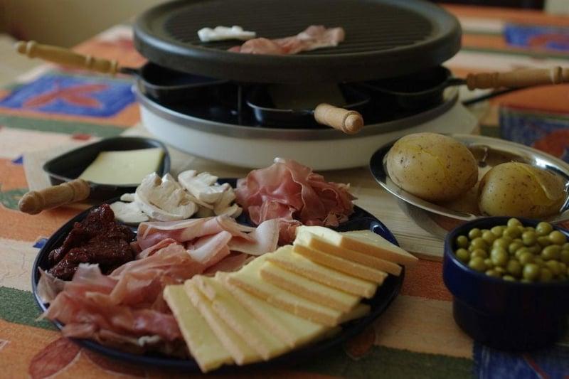 Raclette Zutaten Fleisch