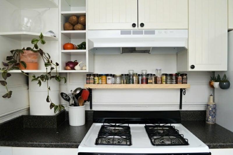 Dsen Regal für die Küche