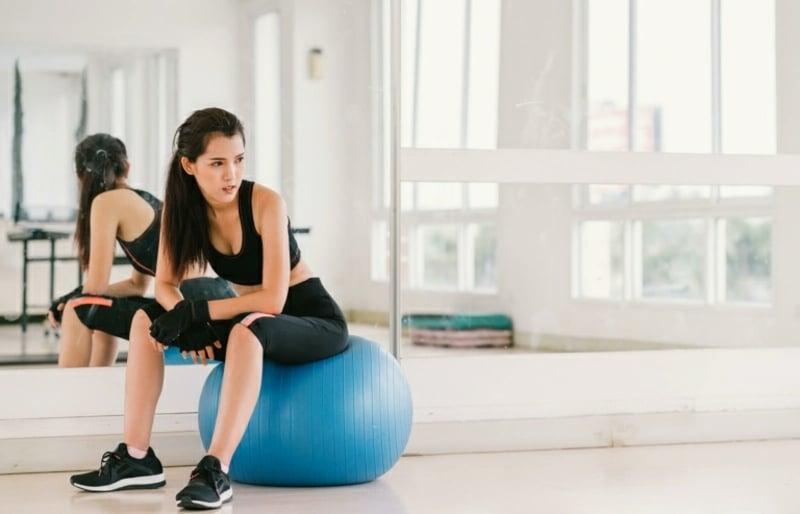 Workout sich eine Auszeit gönnen