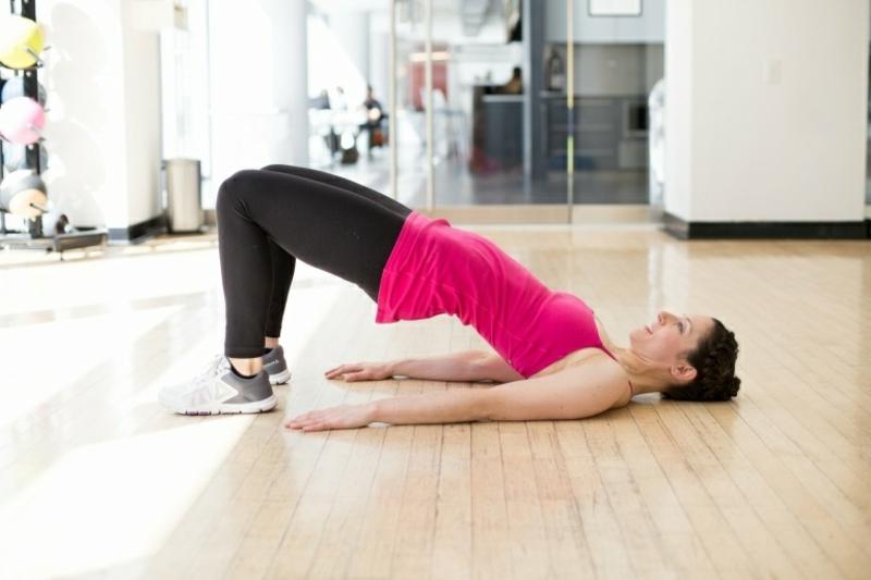 Beine und Bauch trainieren