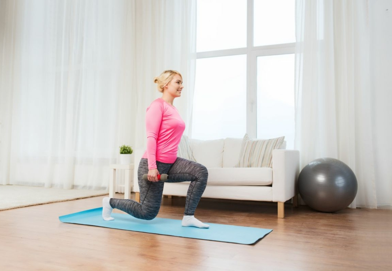Fett abnehmen muskeln aufbauen Sportanfänger
