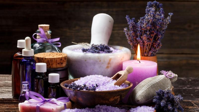 Aromatherapie machen Lavendel