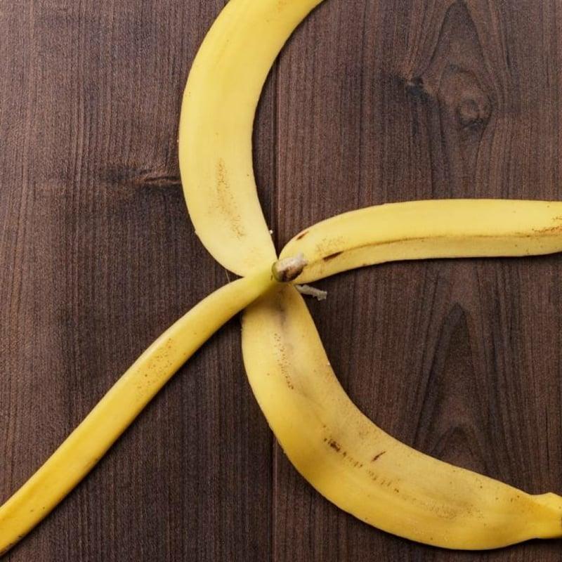 Bananenschale Dünger Blumen
