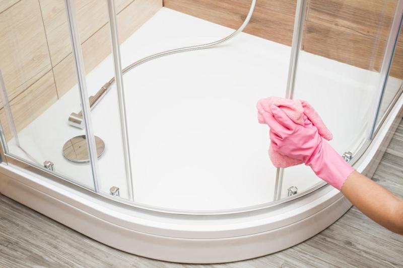 Duschkabine putzen hilfreiche Tipps