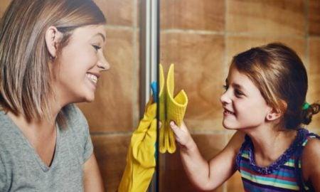 Duschkabine putzen mit Hausmitteln