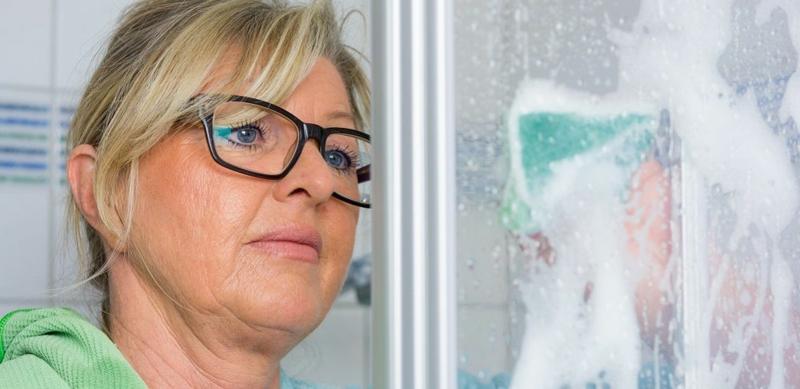 Reinigungsmittel auswählen Duschkabine