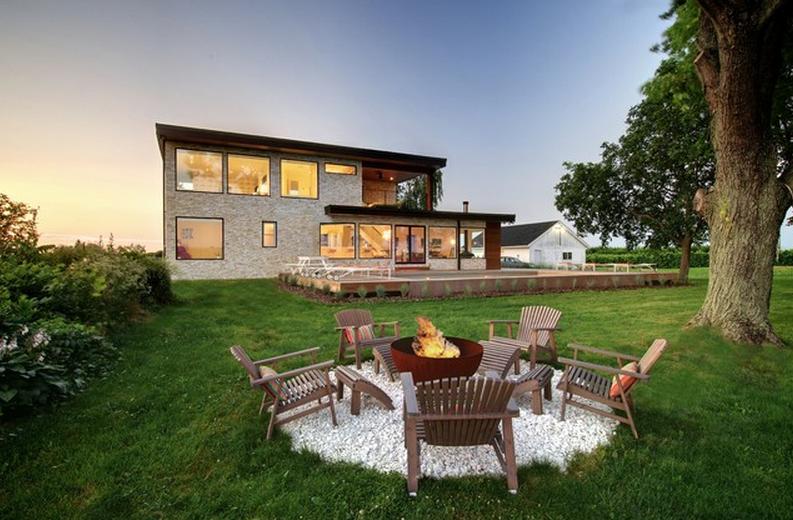 Ein stimmiges Gesamtbild zwischen Haus und Garten schaffen