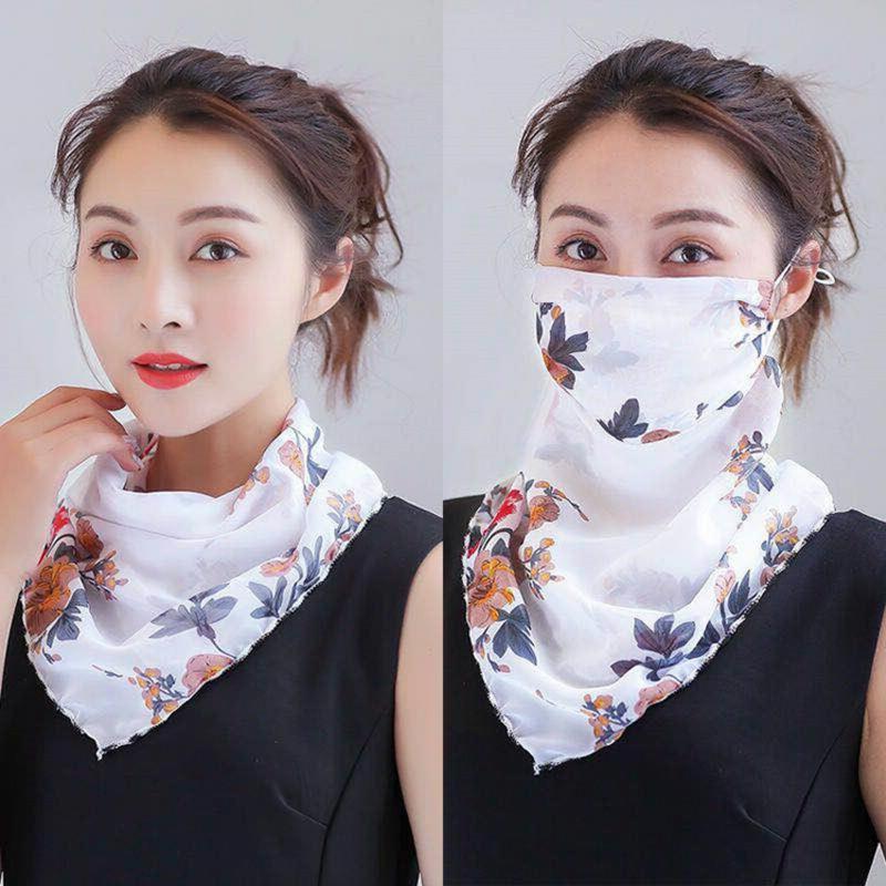 Halstuch Maske aus Seide