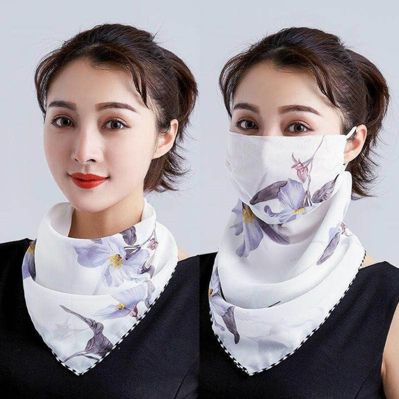 DIY Halstuch Maske