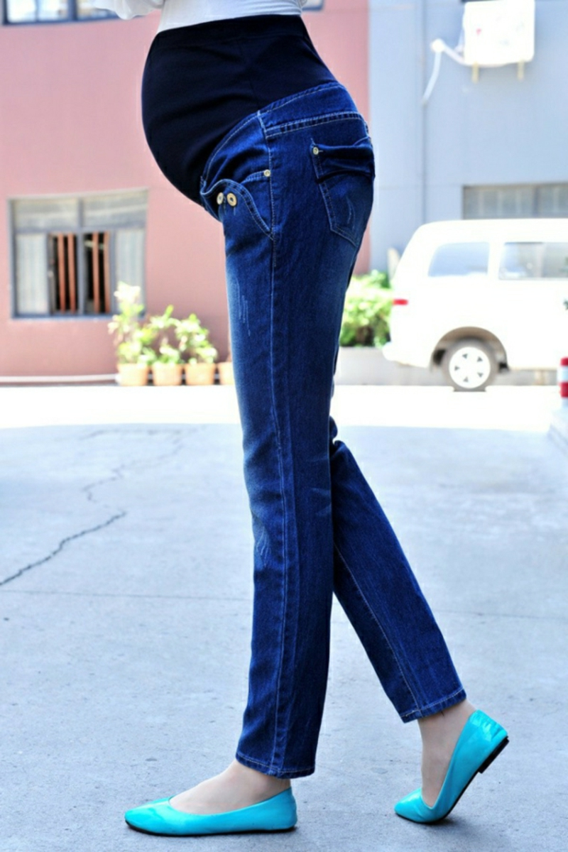 Schwangerschaftsmode Skinny Jeans