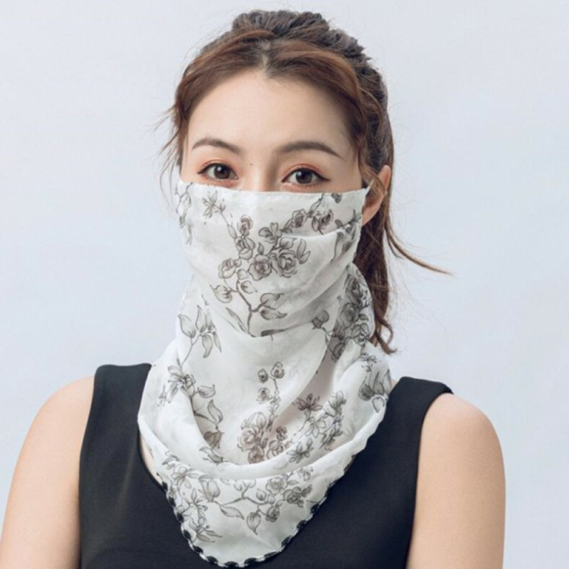 herrliche Gesichtsmaske Schal modern