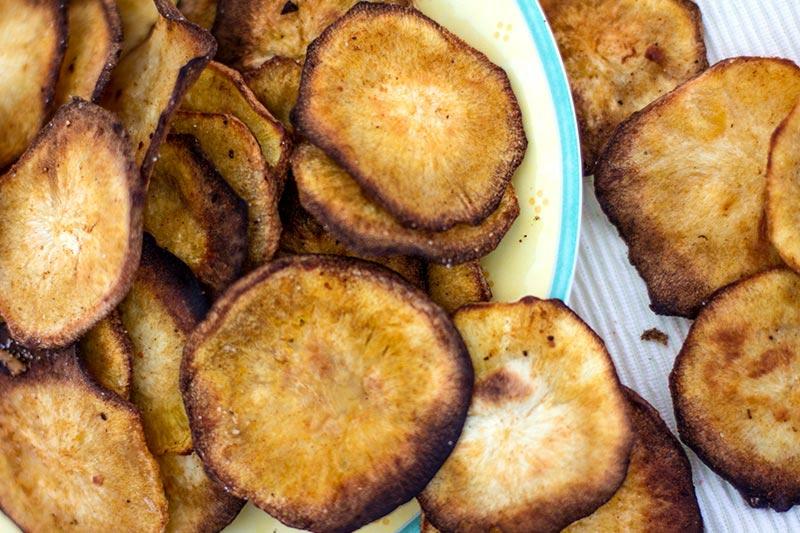 Chips aus Pastinaken gesunde Idee