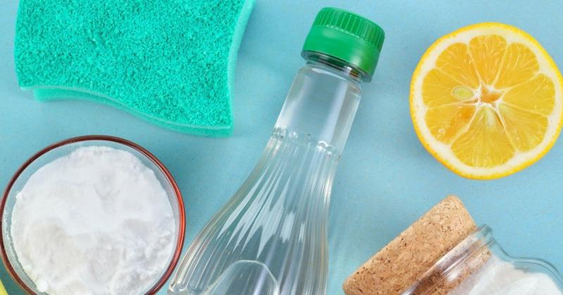 Reinigen mit Hausmitteln Essig Zitrone