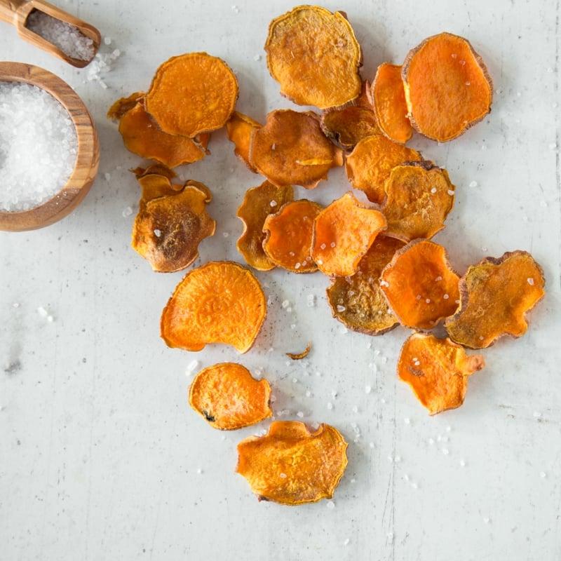 Süßkartoffelchips gesund