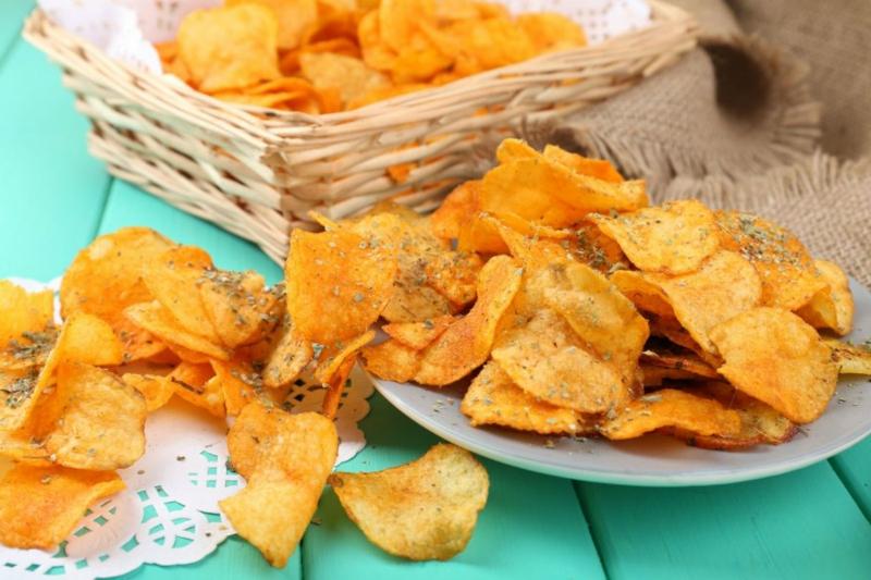 Chips selber machen aus Süßkartoffeln