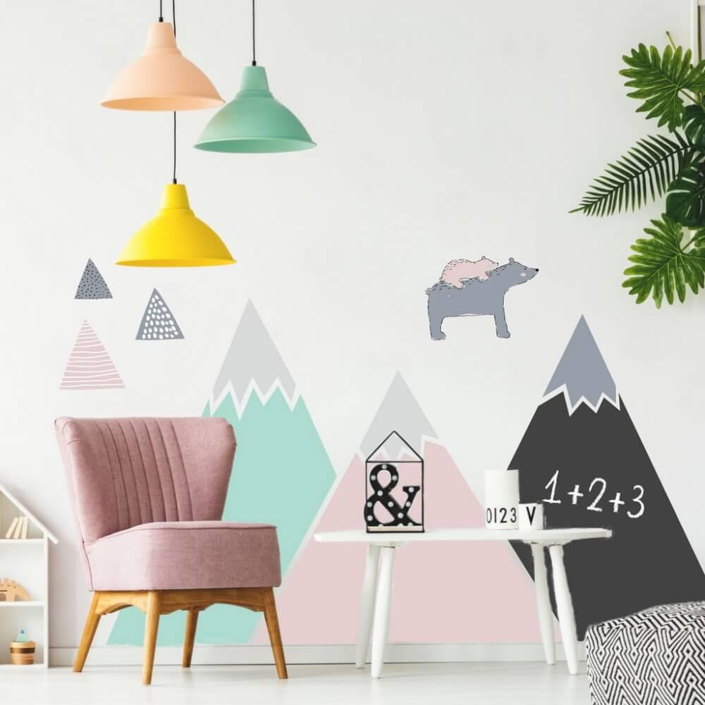 Moderne und einzigartige Ideen für Wandtattoos