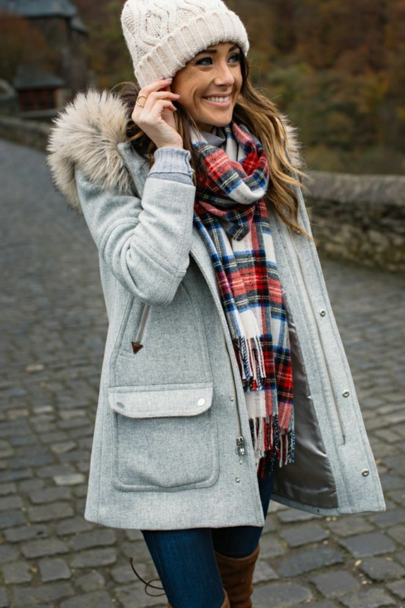 warme und elegante Winteroutfits