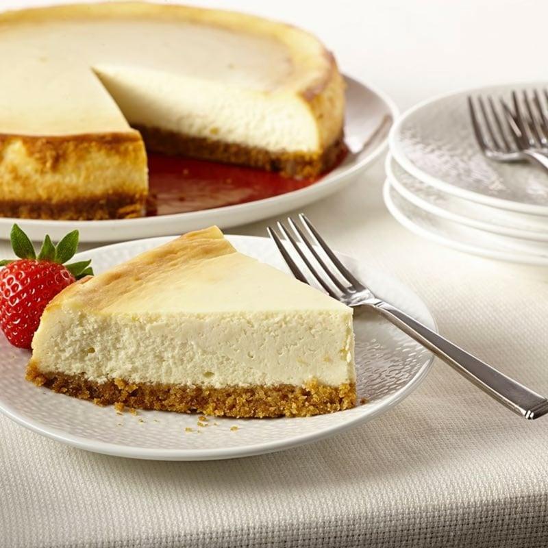 selbst gemachter Cheesecake