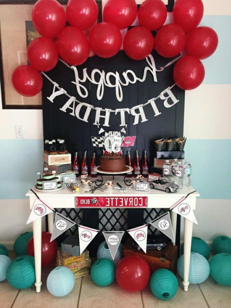 Fingerfood Buffet Geburtstag tolle Idee