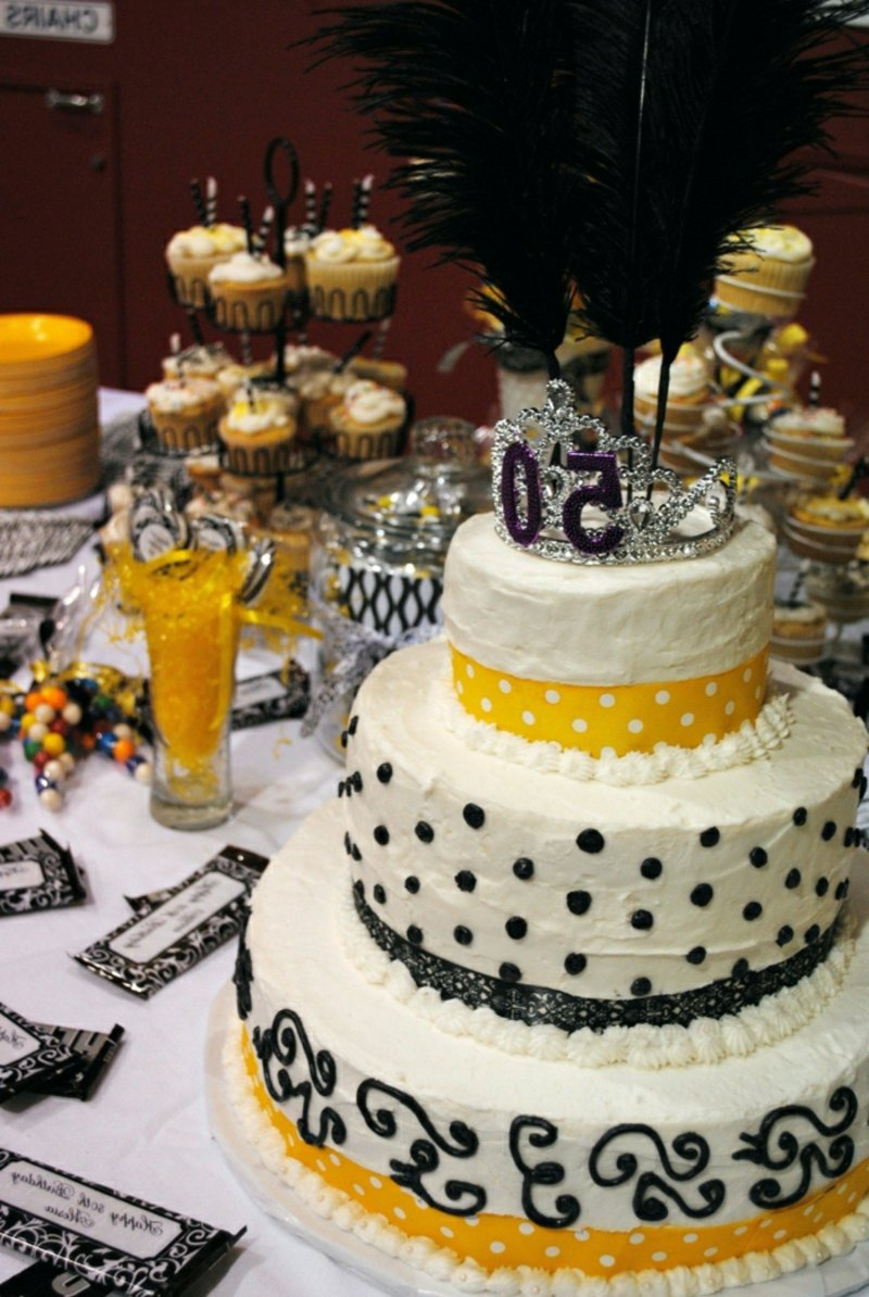 große Torte 50. Geburtstag