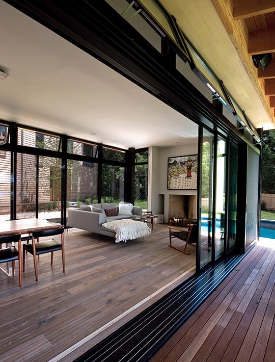 Hebeschiebetüren verleihen modernes Look Ihres Zuhause